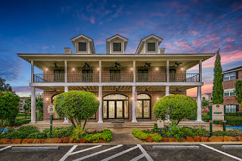 Go to Landmark at Cypress Falls Apartments website
