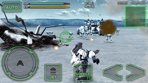 Destroy Gunners SP / ICEBURN!! screenshot 6