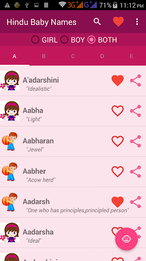 Hindu Baby Names With Meanings - Revenue & Download estimates