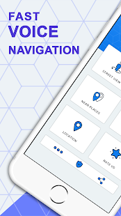 Fast Voice Navigation: GPS Maps Directions & Route - náhled