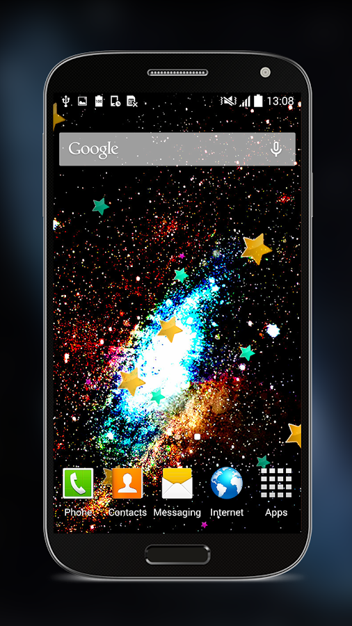 galactic space live wallpapers android apps on google play