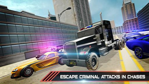 Police Car Stunts Game : Fast Pursuit Simulator 3D screenshot 2