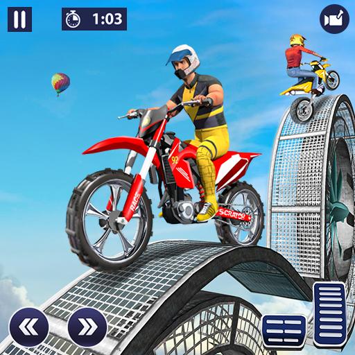 Stunt Bike Racing Tricks 2 - Ramp Bike Impossible