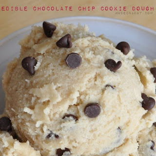 Edible Chocolate Chip Cookie Dough.