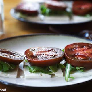 Feta, Arugula, Tomatoes