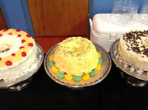 Lemon Frosted Poppy Seed Bundt Cake Recipe