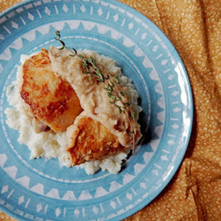 Buttermilk Roasted Chicken with Gravy