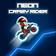 Neon Crazy Rider - The motocross tracker game apk