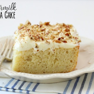 Buttermilk Banana Cake Recipes