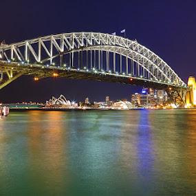 Sydney Harbor Bridge by Adam Beniston - Buildings & Architecture Bridges & Suspended Structures