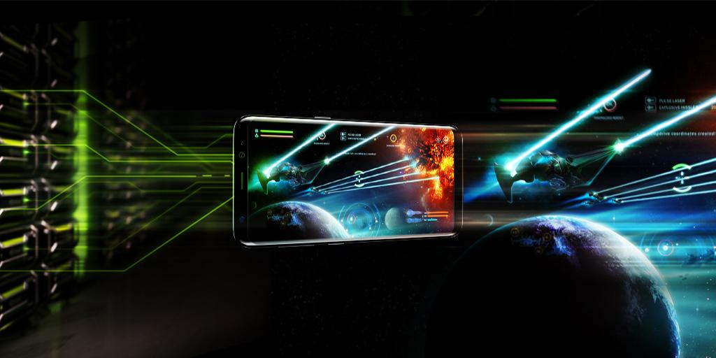 NVIDIA GeForce NOW Android App Screenshot