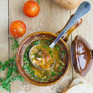 Tomato Garden Vegetable Soup.