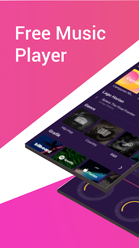 Free Music Player Android App Screenshot