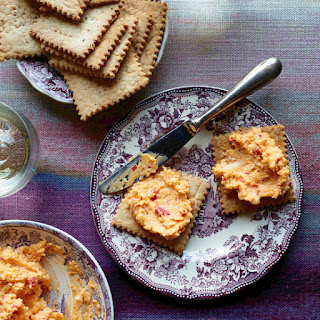 Pimento Cheese with Salt-and-Pepper Butter Crackers
