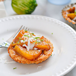 Caramelized Pineapple Tartlets