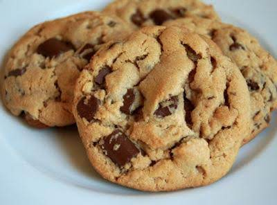 Peanut Butter Chocolate Chunk Walnut Cookies Recipe