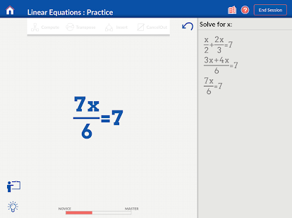 Algebra on Nudge- screenshot thumbnail