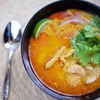 Chicken Khao Soi (ข้าวซอย).