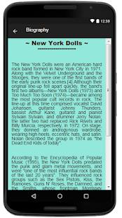 New York Dolls Lyrics Music - náhled