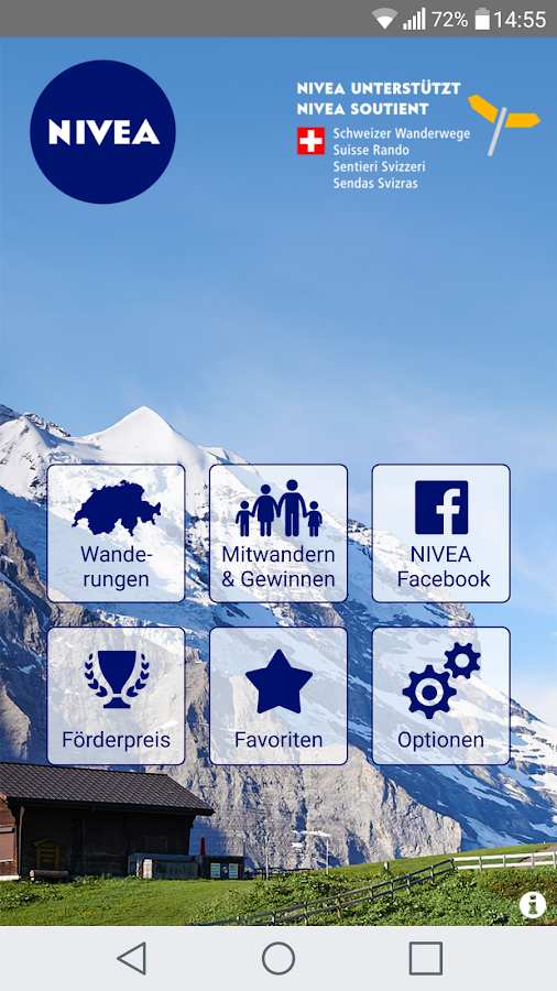 NIVEA Wandertour- screenshot