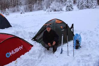 Photo: Po spolu troch absenciach to bolo moje 13. táborenie v zime na hrebeni Nitrických vrchov (Kňažinove lúky)