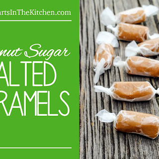 Coconut Sugar Salted Caramels.