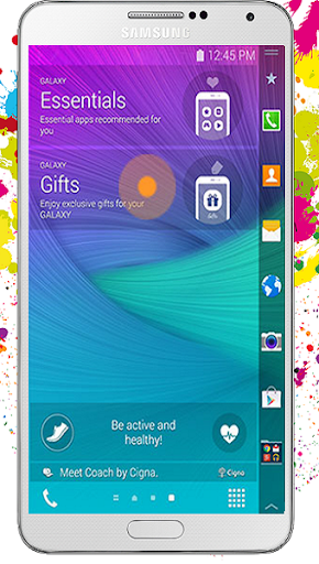 Note Edge Launcher for Galaxy