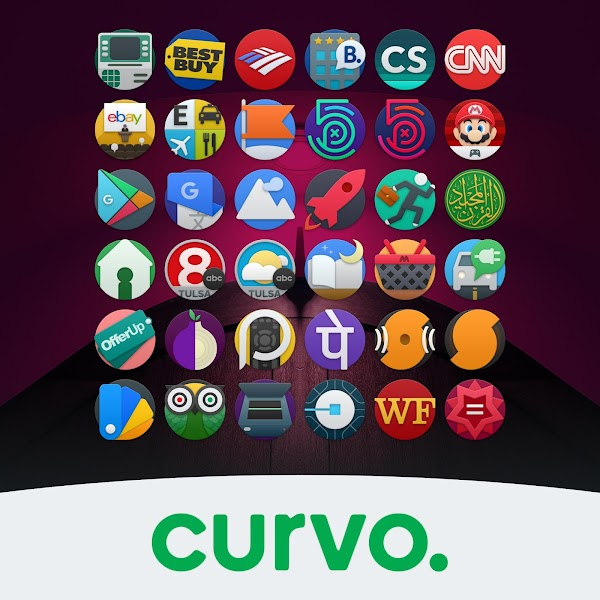 curvo. iconpack (BETA) v0.8