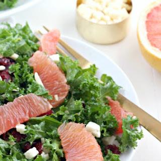 Kale Grapefruit Salad.