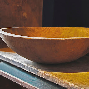 Bowl in Crate by Terri Schaffer - Artistic Objects Antiques