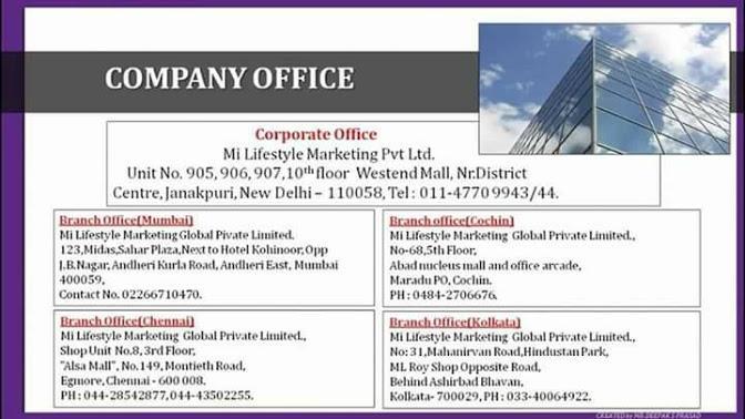 mi lifestyle company office