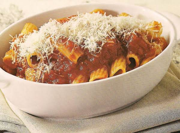 Tortiglioni Con Salsa Di Pelati (tortiglioni With Recipe