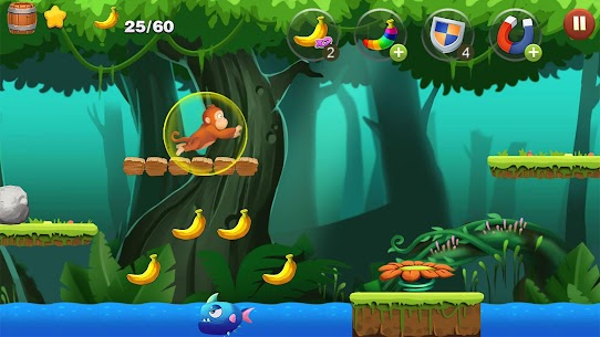 Jungle Monkey Run App Download For Android and iPhone 2