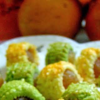 Matcha Pineapple Roll.