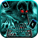 Zombie Skull Keyboard icon