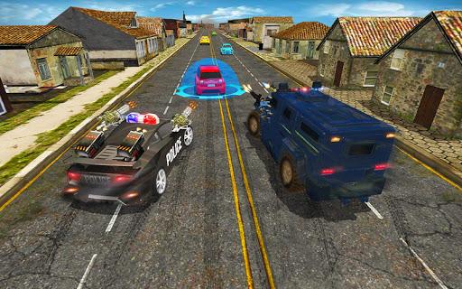 Télécharger Police Autoroute Chasse dans Ville - la criminalit APK MOD (Astuce) screenshots 4