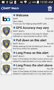 BART Watch- screenshot thumbnail