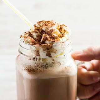 Chocolate Nesquik Milkshake.