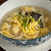 Pork Wonton Soup Noodle