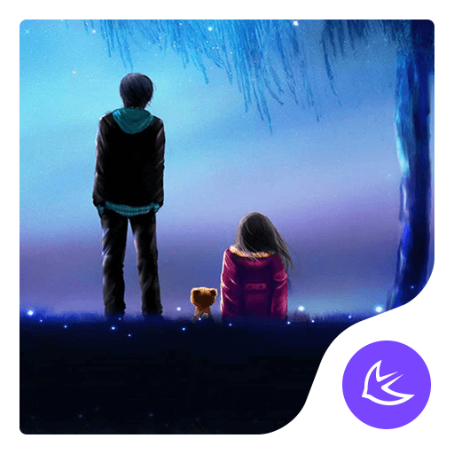 Lovers-APUS Launcher theme