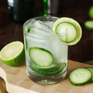 Refreshing Cucumber Gin & Tonic.