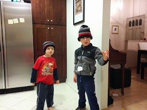 Photo: Boys in Tuques