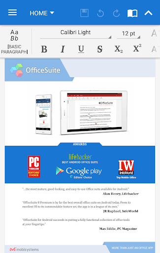 OfficeSuite Pro + PDF screenshot 1