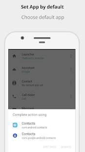 Default App Manager Screenshot
