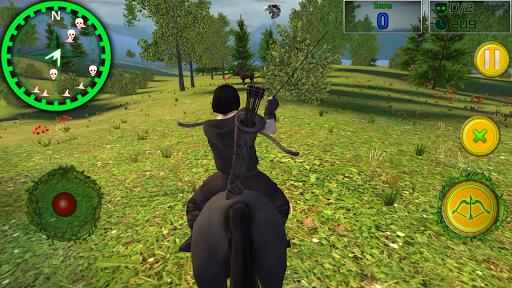 森林射手:鹿猎人