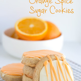 Orange Spiced Sugar Cookies Recipe