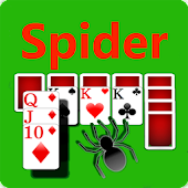 Spider Solitaire--Card Game Pro 2017 icon