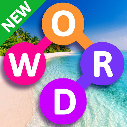 Word Beach: Fun Relaxing Word Search Puzzle Games Icon