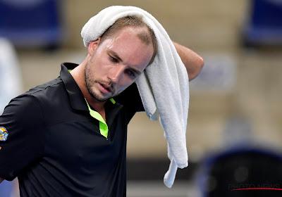 Darcis moet ATP-toernooi in Antwerpen met zware nederlaag verlaten