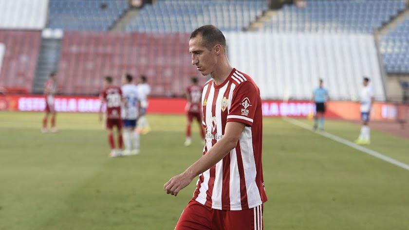 Petrovic en el partido ante el Tenerife.